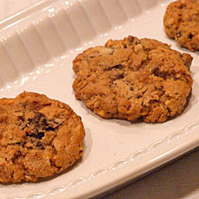 Peanut Butter- Oatmeal Chocolate Chunk Cookies
