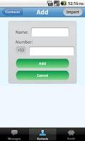 Screenshot of SMS Habana