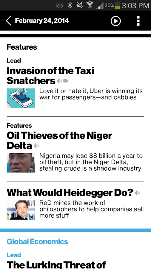 Bloomberg Businessweek+ Screenshot 3