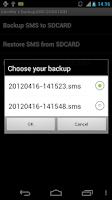 Screenshot of BackupSMS DONATION