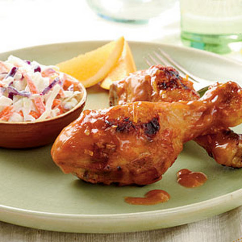 Chipotle-Orange Chicken Legs