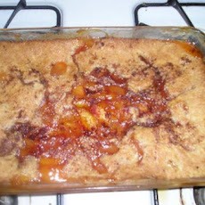Easy Fresh Peach Cobbler