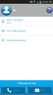 THEME BLUE GLASS FOR EXDIALER - screenshot