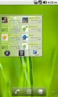 Screenshot of Smart Contacts Widget