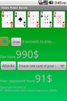 Screenshot of Video Poker Battle