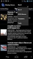 Screenshot of Wadup Nieuws
