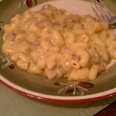 Cheating Cheeseburger Macaroni