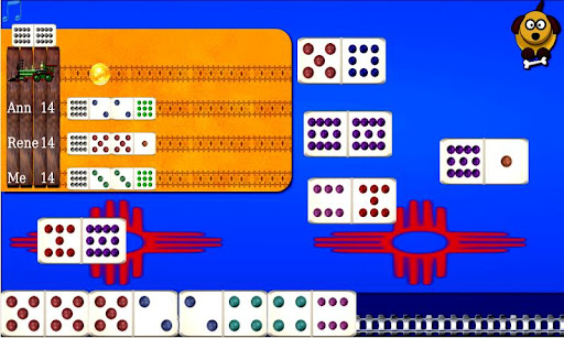 Domino Sim Mexican Train Lite