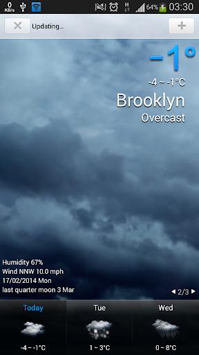 Amazing Weather HD - screenshot