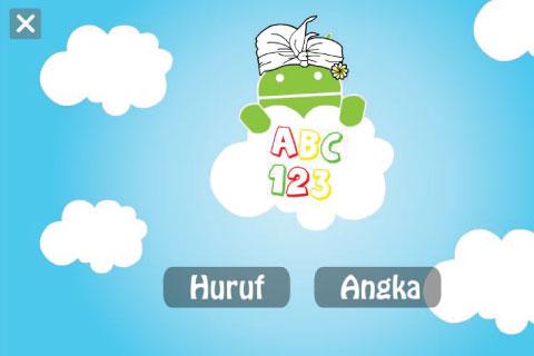 belajar-huruf-dan-angka for android screenshot