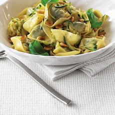 Tortellini With Lemon And Courgette