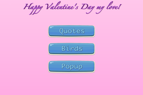 Valentines - screenshot