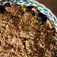 Apple Blueberry Crumble