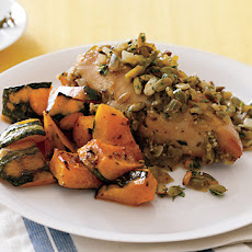 Roasted Kabocha Squash with Cumin Salt