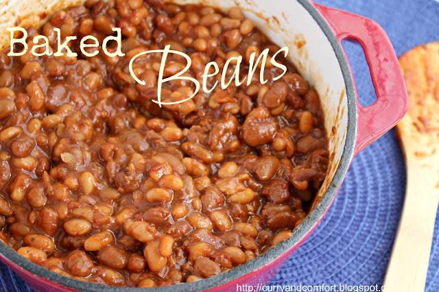 Slow Cooker Vegetarian Baked Beans Recipe | Yummly