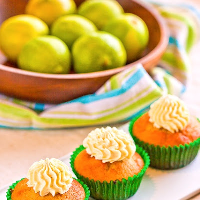 Lime Olive Oil Cupcakes