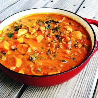 Chicken Coconut Curry Stew