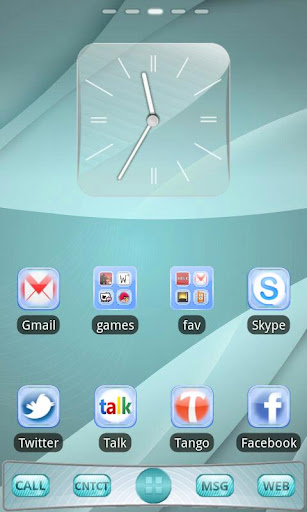 Sensation Go Launcher EX Theme