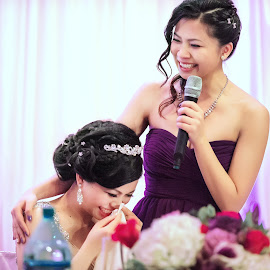 by Wenkan Zhu - Wedding Reception