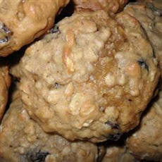 Coffee Liqueur Raisin Cookies