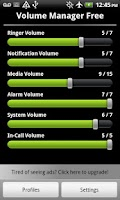 Screenshot of Volume Control Manager Free