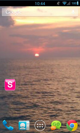 Pink /W Socialize for Facebook - screenshot