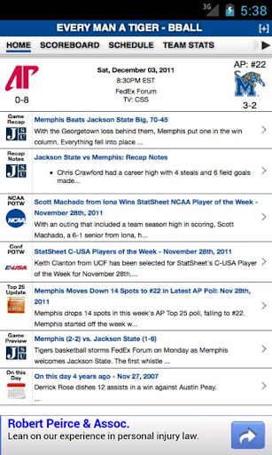 Memphis Football Basketball