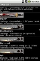 Screenshot of MW2 Guide