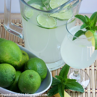 Lime Ginger Mint Cooler