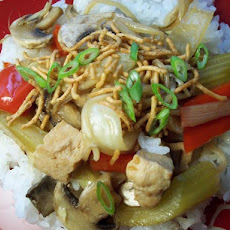 Easy Chicken Chow Mein Saute