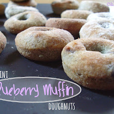 Mini Blueberry Muffin Doughnuts