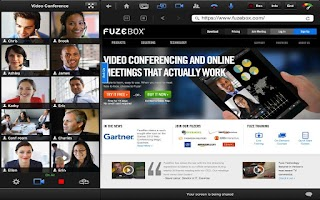 Screenshot of Fuze for Tablets