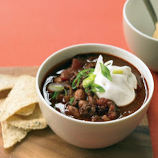 Lighter Beef Chili