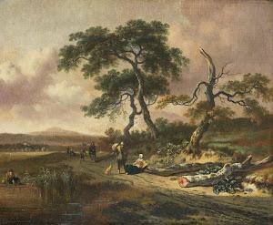 RIJKS: Jan Wijnants: painting 1669