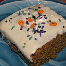 Pumpkin Bar Icing