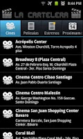 Screenshot of La Cartelera