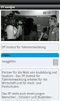 Screenshot of IfT nordjob