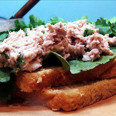 Tuna Salad Sandwich With a Bite!