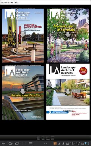 Landscape Architect Business M