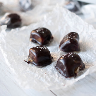 Chocolate Stout Covered Beer Caramels