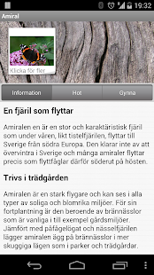Fjärilar - screenshot
