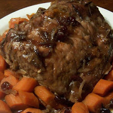 Cranberry Apricot Pork Roast