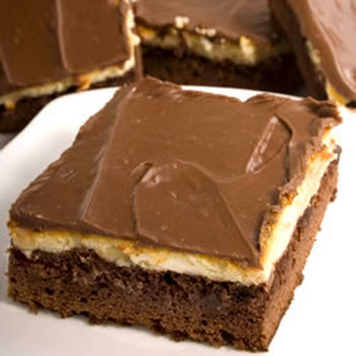 Cheesecake Topped Brownies