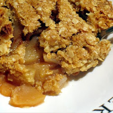 Apples With Crunchy Topping