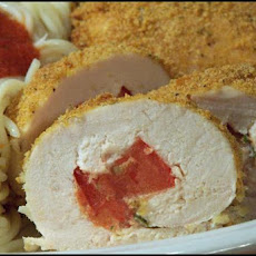 Tomato-Stuffed Chicken Rolls