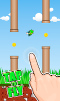 Screenshot of Flappy Frog