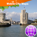 La-Rochelle, Ile de Re Map icon