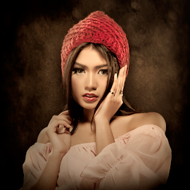 Dini by Joey Bangun - People Portraits of Women ( models, face, model, portrait )