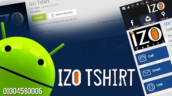 izo Tshirt - screenshot