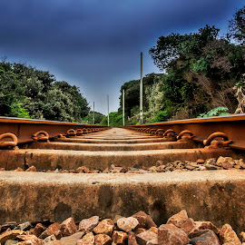 by Andre Oelofse - Transportation Railway Tracks (  )